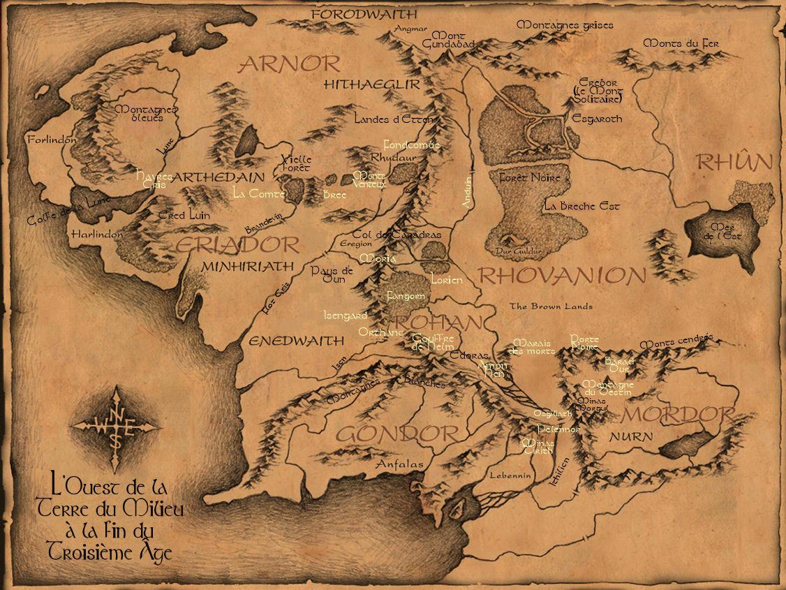 Carte du monde Carte